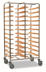 Matfer 24 Tray Clearing Trolley