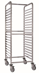 Matfer GN2/1 Racking Trolley