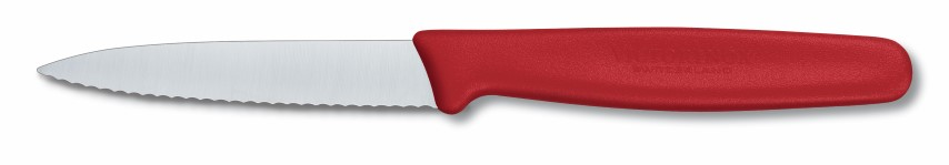 Victorinox Small Fibrox Par Knife Pnt Tip Serrated