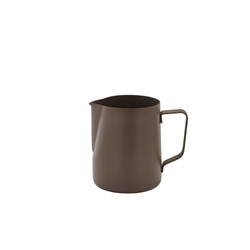 Non-Stick Brown Milk Jug 600ml/20oz (Each) Non-Stick, Brown, Milk, Jug, 600ml/20oz, Nevilles