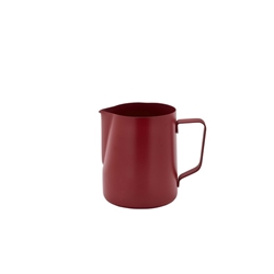 Non-Stick Red Milk Jug 600ml/20oz (Each) Non-Stick, Red, Milk, Jug, 600ml/20oz, Nevilles