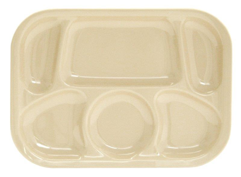 330mm x 241mm / 13? x 9 1/2? Compartment Tray, Tan
