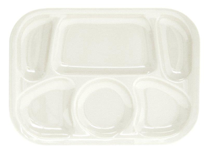 330mm x 241mm / 13? x 9 1/2? Compartment Tray, White