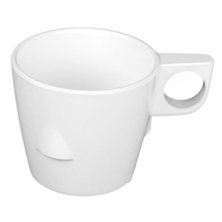 7 oz, 3 1/4? / 80mm Stacking Cup, White