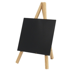 Mini Chalkboard Easel 24 x 11.5cm Wood 3 pieces (Each) Mini, Chalkboard, Easel, 24, 11.5cm, Wood, 3, pieces, Nevilles