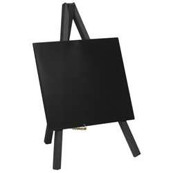Mini Chalkboard Easel 24 x 11.5cm Black 3 pieces (Each) Mini, Chalkboard, Easel, 24, 11.5cm, Black, 3, pieces, Nevilles