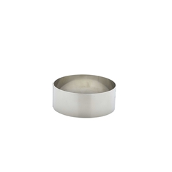 Stainless Steel Mousse Ring 9x3.5cm (Each) Stainless, Steel, Mousse, Ring, 9x3.5cm, Nevilles