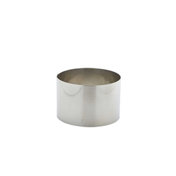 Stainless Steel Mousse Ring 9x6cm (Each) Stainless, Steel, Mousse, Ring, 9x6cm, Nevilles