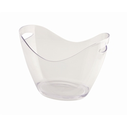 Clear Plastic Champagne Bucket Large (Each) Clear, Plastic, Champagne, Bucket, Large, Nevilles