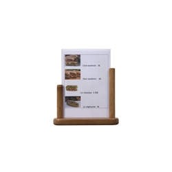 Table Board 21x30cm Large Teak PVC Insert (Each) Table, Board, 21x30cm, Large, Teak, PVC, Insert, Nevilles
