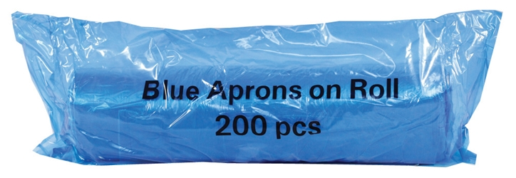 Economy Aprons on a Roll - Blue