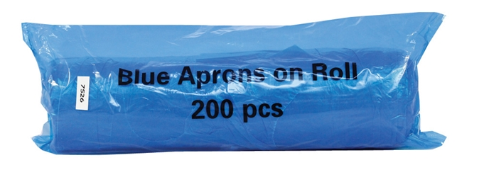 Premium Aprons on a Roll - Blue