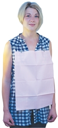 Rectangular Dental Bibs 33 x 45cm - Pink