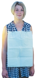 Rectangular Dental Bibs 33 x 45cm - Green