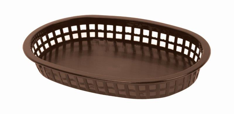 273mm / 10 3/4? Oblong Basket, Brown