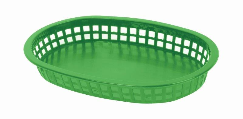 273mm / 10 3/4? Oblong Basket, Green