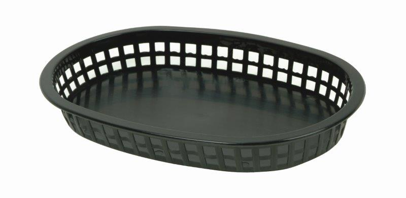 273mm / 10 3/4? Oblong Basket, Black