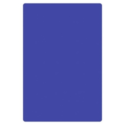 "Blue Cutting Board, HDPE, 18"" X 12"" X 1/2"" (457mm x 305mm x 13mm)"