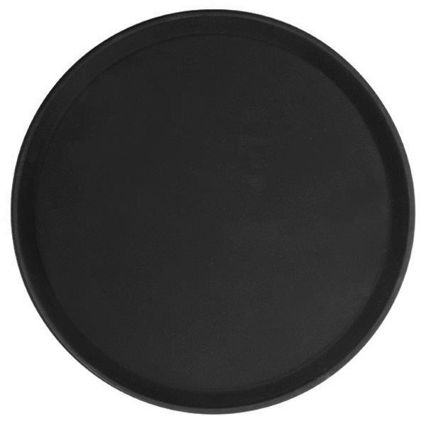 356mm / 14? Round Fiberglass Tray, Black