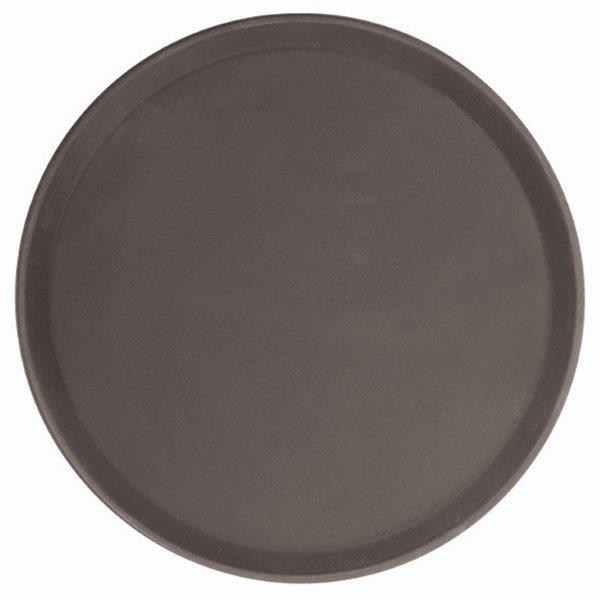 356mm / 14? Round Fiberglass Tray, Brown