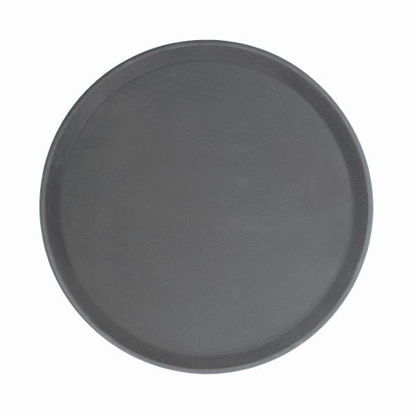 406mm / 16? Round Fiberglass Tray, Black