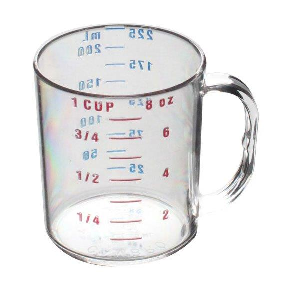 0.25Ltr / 1 cup Measuring Cup, Polycarbonate