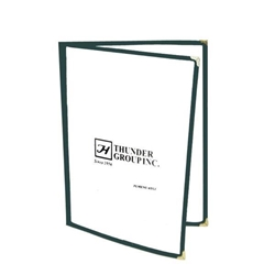 Double Fold Menu Cover, 216mm x 279mm / 8 1/2? x 11? Green