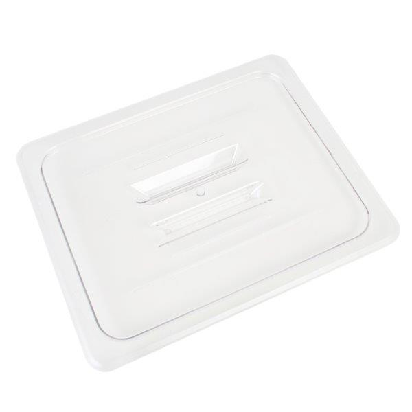 GN 1/2, Standard Solid Cover, Clear, for Polycarbonate Gastronorm Container