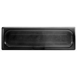 GN 2/4 Long, Drain Shelf, Black, for Polycarbonate Gastronorm Container