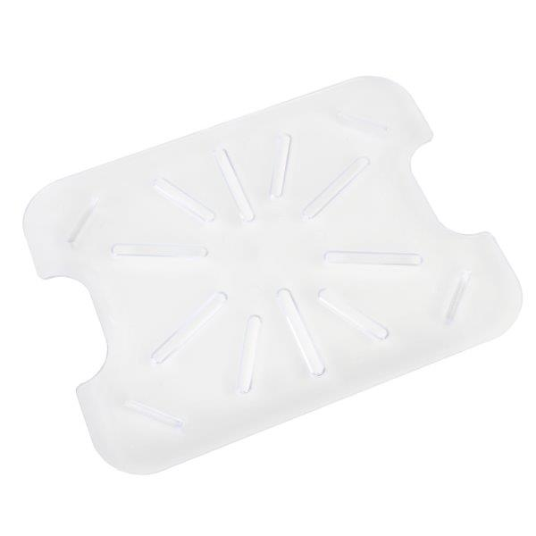 GN 1/4, Drain Shelf, Clear, for Polycarbonate Gastronorm Container
