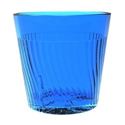 240ml / 8 oz Belize Rock Glass, Blue (12 Pack)