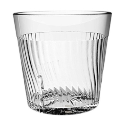 240ml / 8 oz Belize Rock Glass, Clear (12 Pack)