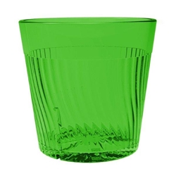 240ml / 8 oz Belize Rock Glass, Green (12 Pack)