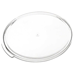Round Cover For 5.7Ltr / 6 qt & 7.6Ltr / 8 qt  Food Storage Container, Polycarbonate