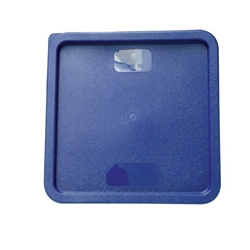 Square Lid For 11.4Ltr / 12 qt & 20.8Ltr / 22 qt, for Square Food Storage Container, Blue