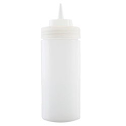 235ml / 8 oz Squeeze Bottle, Clear