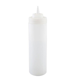 710ml / 24 oz Squeeze Bottle, Clear