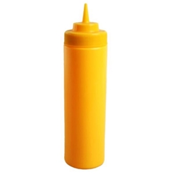 710ml / 24 oz Squeeze Bottle, Yellow