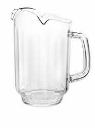 1.89Ltr / 64 oz, Water Pitcher, Polycarbonate