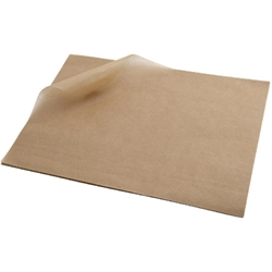 Greaseproof Paper 25X35cm (1000 Shts) Brown (Each) Greaseproof, Paper, 25X35cm, 1000, Shts, Brown, Nevilles