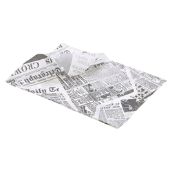 Greaseproof Paper 25X35cm (1000 Shts) Printed (Each) Greaseproof, Paper, 25X35cm, 1000, Shts, Printed, Nevilles