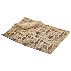 Greaseproof Paper Steak House Design 25x35cm (1000 shts) (Each) Greaseproof, Paper, Steak, House, Design, 25x35cm, 1000, shts, Nevilles
