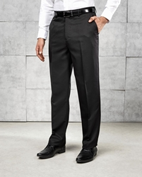 Flat front hospitality trouser