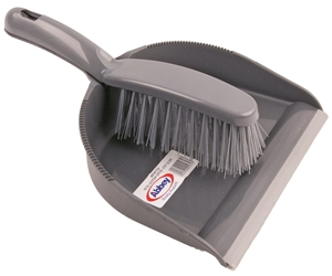 Retail Dustpan & Brush Set Stiff Bristles