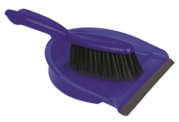Professional Dustpan & Brush Set Stiff Bristles