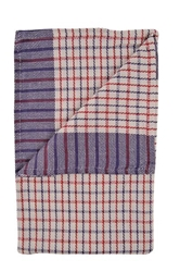 Red/Blue Cotton Check Duster (10 Pack)