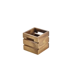 Acacia Wood Box/Riser 12x12x12cm (Each) Acacia, Wood, Box/Riser, 12x12x12cm, Nevilles