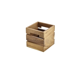 Acacia Wood Box/Riser 15x15x15cm (Each) Acacia, Wood, Box/Riser, 15x15x15cm, Nevilles