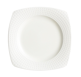 "Satinique Square Dinner Plate 10"" 25.4cm (24 Pack) Satinique, Square, Dinner, Plate, 10"", 25.4cm"