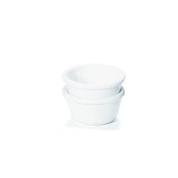 Ramekin 3oz Smooth White 81 x 36mm (48 Pack) Ramekin, 3oz, Smooth, White, 81, 36mm, Nevilles
